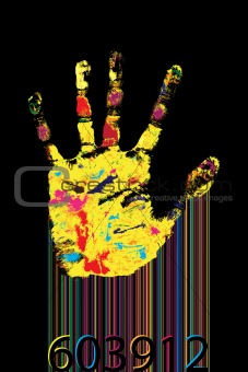 Barcode hand