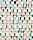 Multiracial concept graphic