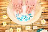 Milk manicure