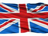 Flag of the United Kingdom Of Great Britain and Northern Ireland, also known as the Union Jack.
