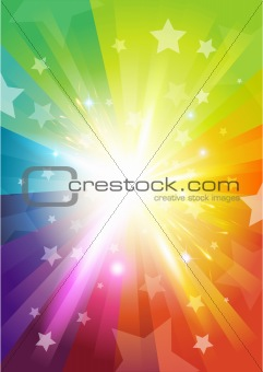 Colour Burst Background