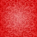 Red abstract seamless wallpaper