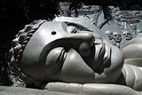 Giant buddha head