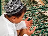 Muslim Child Praying