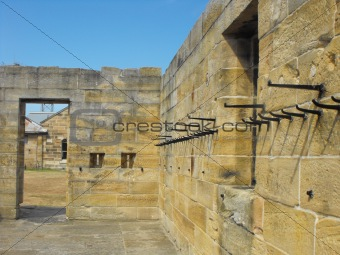 Old warders' garrison at Cockatoo Island