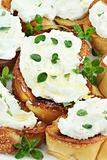 Bruschetta with Ricotta Cheese