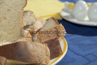 bread, cheese, egg
