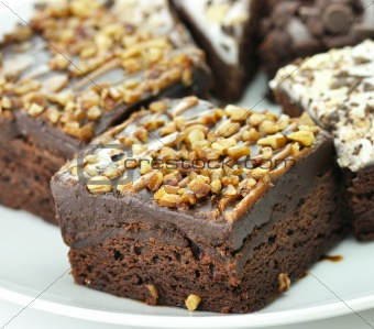 brownies close up