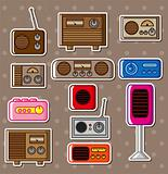 radio stickers