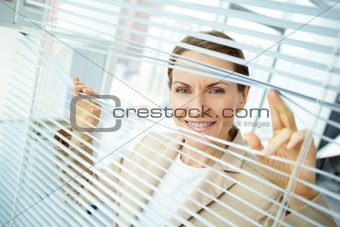Sliding apart blinds