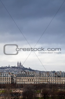 Tempest on Montmartre