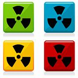 Radioactivity sign buttons