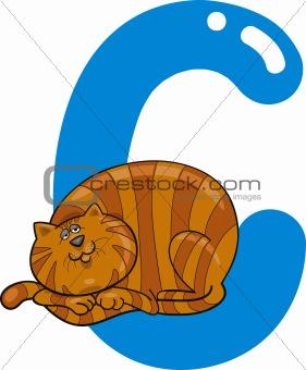 C for cat