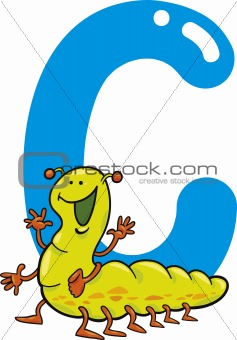 C for caterpillar