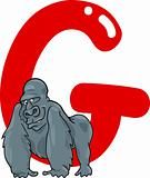 G for gorilla