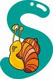 S for snail