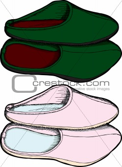 Pairs of Slippers