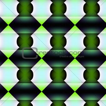 Greenish angulous texture.