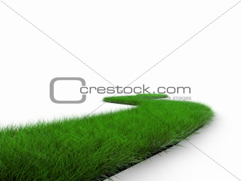 grass road