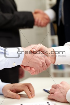 Business gesture