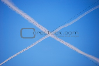 cross on sky