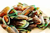 boiled mussels in Thaillnd