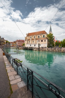Annecy Main Canal Old City