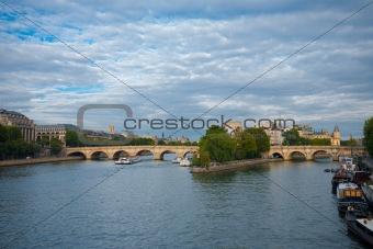 Paris Ile De La Cite Pont Neuf
