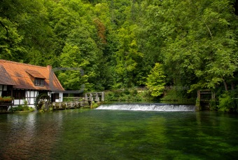 Old hammermill, Blaubeuren, Germany