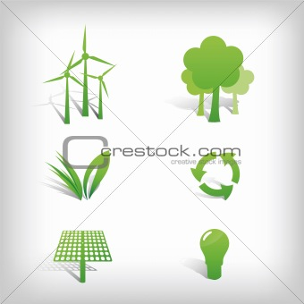 Environment Vector Icons