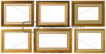 Golden frame Collection.