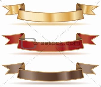 Ribbon banners