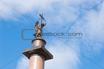 Alexander Column in St. Petersburg