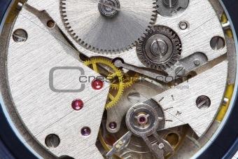 old metal clockwork