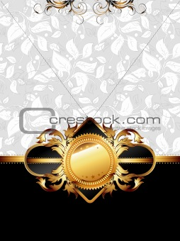 ornate golden frame