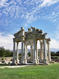 The temple of Aphrodite in ancient city Aphrodisias.