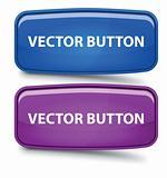 Rectangular Glass Buttons