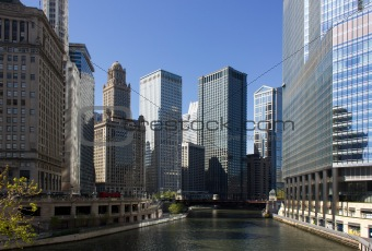 A view from Chicago River-2
