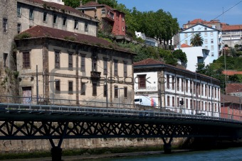 Old buildings of Oporto.