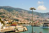 Funchal with harbor, Madeira