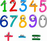 funny numbers from zero to nine