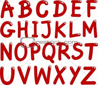 Capital Letters Alphabet