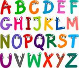 Funny Capital Letters Alphabet