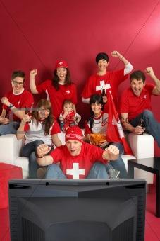 Swiss sports fans