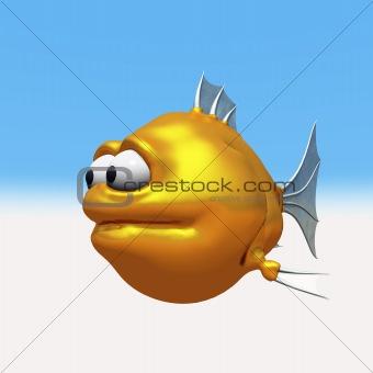 strange goldfish