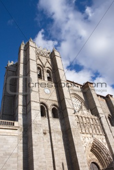 Catedral of Avila /fragment/