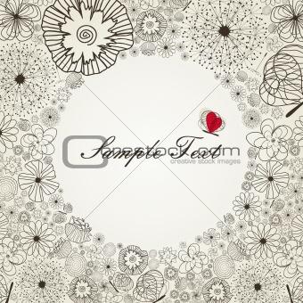 Flower border2