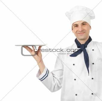 Professional chef man