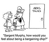 Bargaining chip
