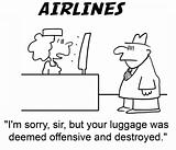Offensive luggage